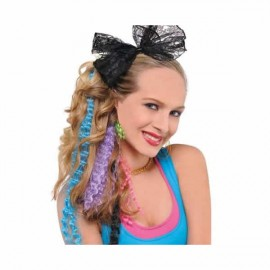 Hair Extensions Totally 80's Neon Colours