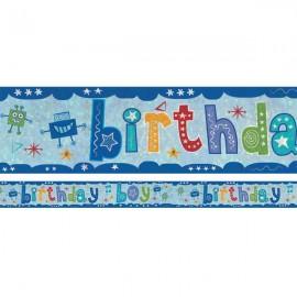 Banner Birthday Boy Foil