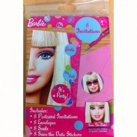 Invitations Barbie