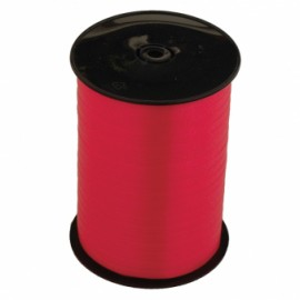Ribbon Curling Red Roll 500m