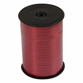 Ribbon Curling Burgundy Roll 500m