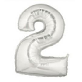 18cm Megaloon Junior No '2' Silver