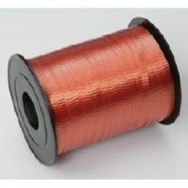 Ribbon Curling Crimped Orange 5mm x 457mm