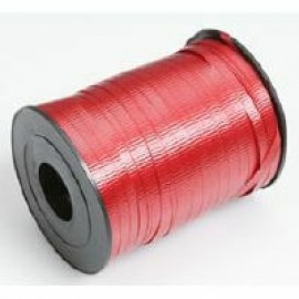 Ribbon Curling Crimped Red 5mm x 457mm