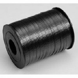 Ribbon Curling Crimped Black 5mm x 457mm