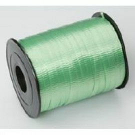 Ribbon Curling Crimped Lime Green 5mm x 457mm