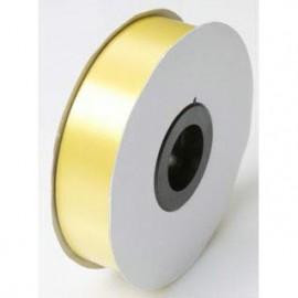 Tear Ribbon Satin Yellow 30mm x 91m