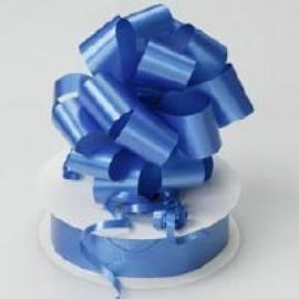 Pull String Bows P/Satin Royal Blue