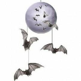 Moon & Bats Mobile & Cutouts