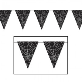 Pennant Banner Spider Web All Weather