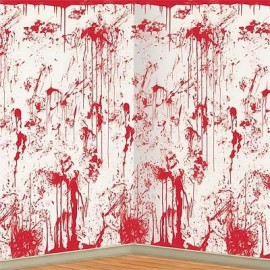 Backdrop Wall Bloody Splatter Scene Setter