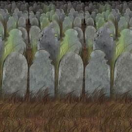 Backdrop Wall Graveyard Scene Setter