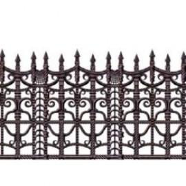 Backdrop Border Creepy Fence