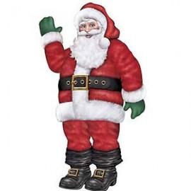 Cutout Jointed Santa