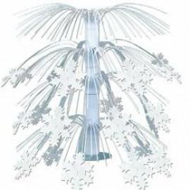 Centrepiece Cascade Snowflake