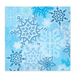 Snowflakes Luncheon Napkins