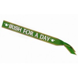 Sash Satin Irish For A Day