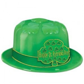 Hat Plastic St Patrick's Day Shamrock
