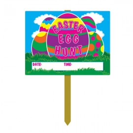 Yard Sign Easter Egg Hunt,