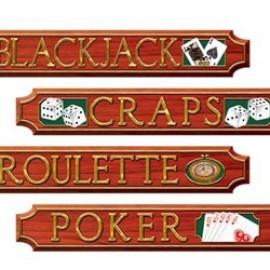 Cutouts Casino Signs