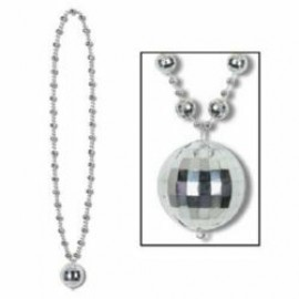Necklace Disco Ball Beads