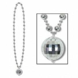 Necklace Disco Ball Beads