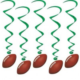 Hanging Decoration Whirls Football