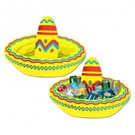 Cooler Sombrero, Inflatable