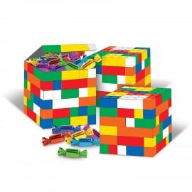 Block Party Building Blocks Favor Boxes