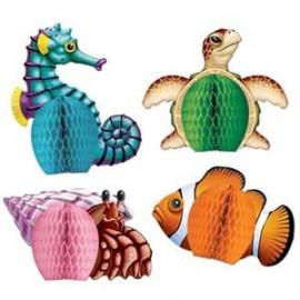 Centrepiece Honeycomb Mini Sea Creatures