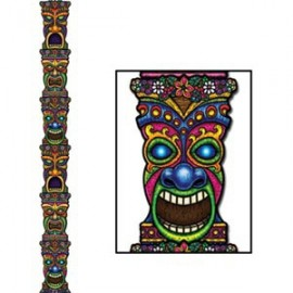 Cutout Jointed Tiki Totem Pole