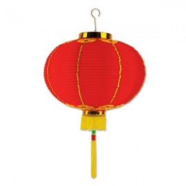 Good Luck Lantern with Tassels 30cm