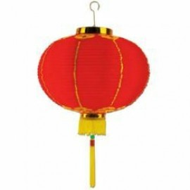 Lanterns Good Luck with Tassel 20cm