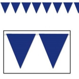 Banner Pennant Blue Indoor / Outdoor