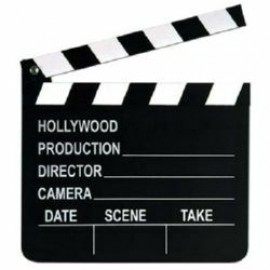 Clapboard - Movie Set (Includes Chalk)