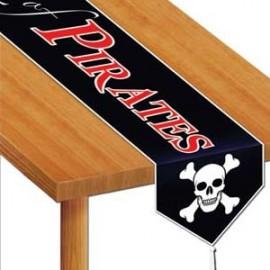 Table Runner Beware of Pirates