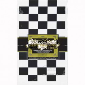 Tablecover Black & White Checkered