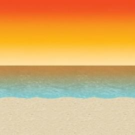 Backdrop Sunset Beach Scene Setter