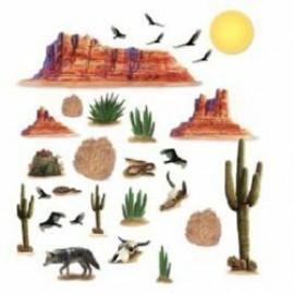 Cutout Props Wild West Desert