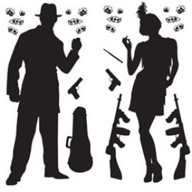 Cutout Props Gangster