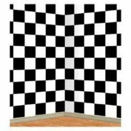Backdrop Wall Checkered Scene Setter