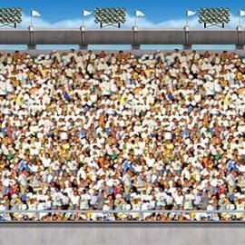 Backdrop Upper Deck Stadium Scene Setter