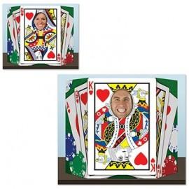 Photo Prop Royal Flush Playing Cards