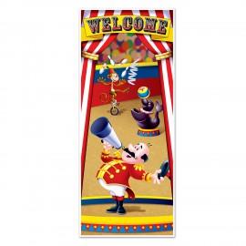 Door Cover Circus Tent Plastic 76cm x 1.83m