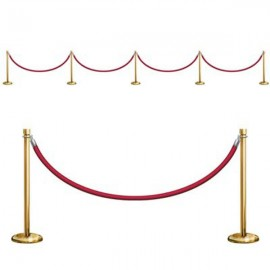 Stanchion Party Prop Cutout