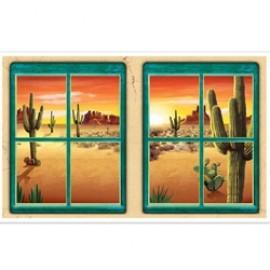 Cutout Props Desert Window