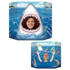 Photo Prop Shark Printed 2 Sided Design