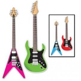 Guitar Cutouts Assorted Designs 91cm