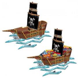 Centerpiece Pirate Ship