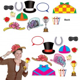 Photo Booth Props Horse Racing Theme